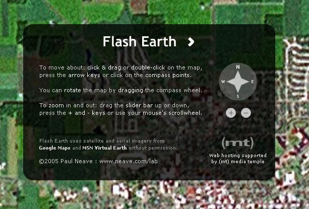 FreewareWiki - freeware & free info / FlashEarth